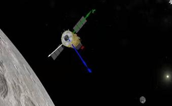 嫦娥五号探测器组合体分离 将择机实施月面软着陆