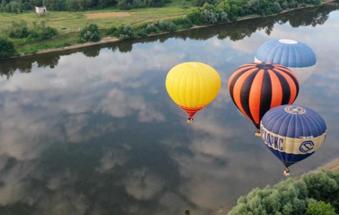 2021年俄罗斯天空热气球节举行