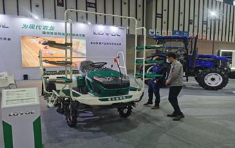 潍柴雷沃农业装备震撼亮相中国 (江苏)国际农业机械展览会