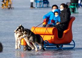 北京:冰上畅玩乐趣多