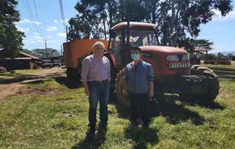"""""""我""""在肯尼亚的13年—潍柴雷沃1254拖拉机"""